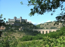 Spoleto - Umbria - Rocca Albornoziana e Ponte delle Torri