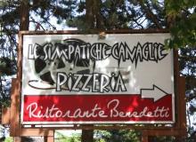 Insegna ristorante pizzeria